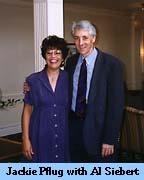 Photo of Jackie Pflug and Al Siebert