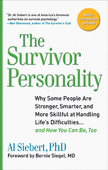 The Survivor Personality book cover, 2010